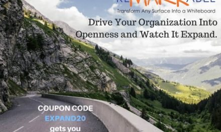 Drive Your Organization Into Openness and Watch it Expand [20% Off Whiteboard Paint]