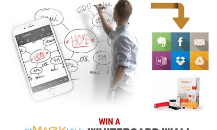 Win a Whiteboard Wall That Syncs and Broadcasts