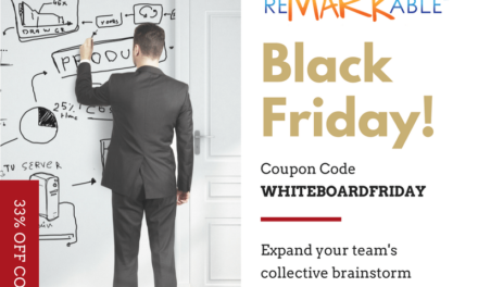 Early Black Friday 2017 Savings – 33% Off ReMARKable Whiteboard Paint
