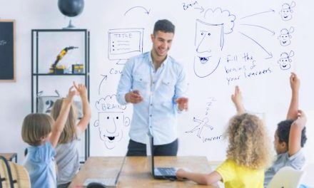 Advantages of Working and Learning at Home Using a Whiteboard Wall