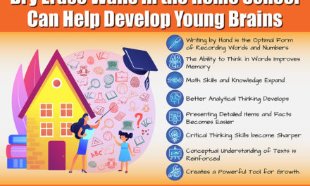 Dry Erase Walls in the Home School Can Help to Develop Young Brains